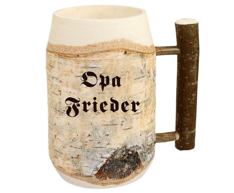 Geschenke für Opa - Bierkrug