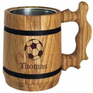 Biergeschenk für Fußballfans