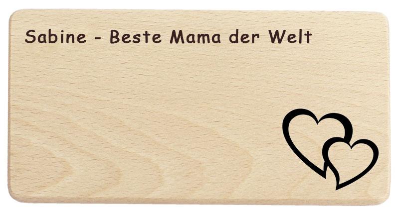 Muttertagsgeschenk Beste Mama der Welt