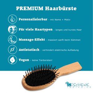 Premium Haarbürste