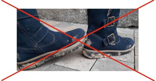 Stiefel schonend ausziehen
