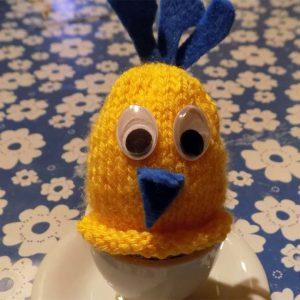 Ostergeschenk: Eierwärmer selber machen