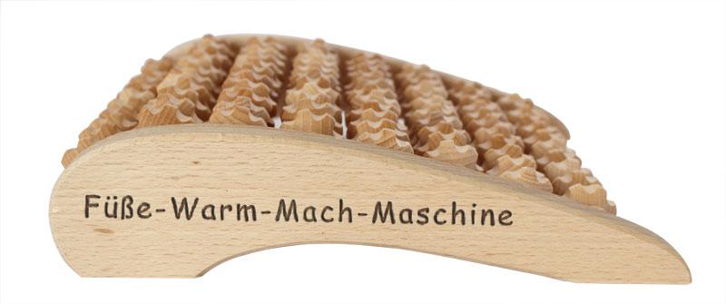 Fussmassage: Füße warm mach Maschine