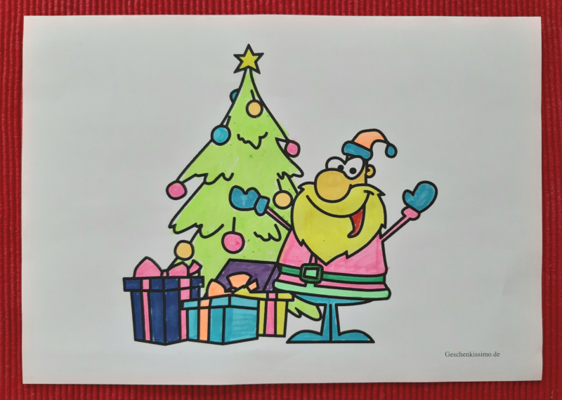 gratis ausmalbilder weihnachten  kostenlos ausdrucken