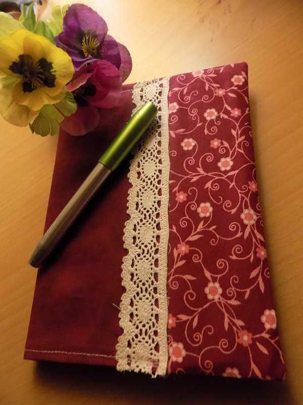 individuelle Tagebucheinband ist fertig
