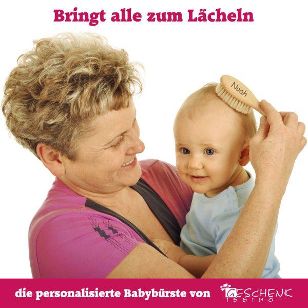 personalisierte Babybürste